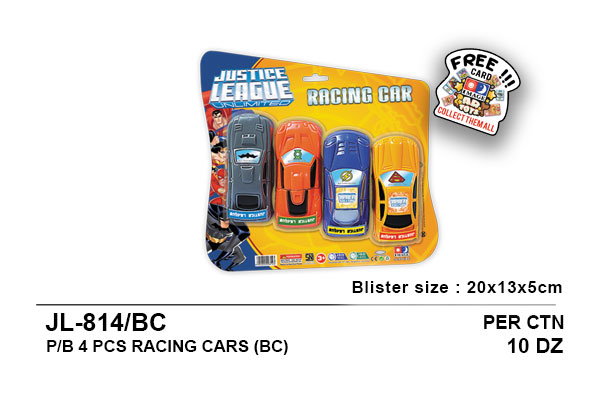 Racing Car - Justice League