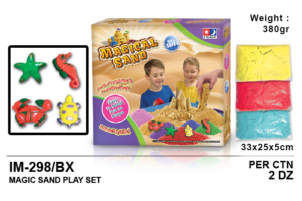 Magic Sand Play Set (Box)