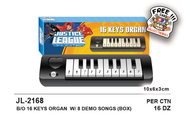 Justice League 16 Keys Organ